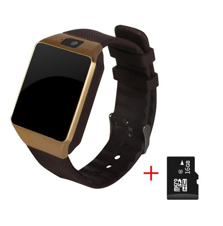 Bluetooth Smart Watch TF SIM Camera for IOS iPhone Samsung