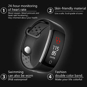 Fitness Tracker Smart Bracelet HR Fitness Sleep and Activity Tracker