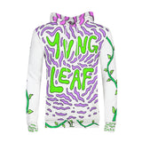 Purple Leaf Men's Hoodie