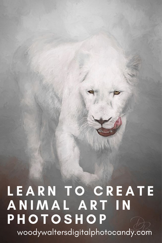 learn how to create animal art from photos
