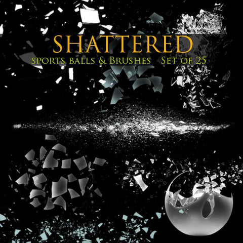 shattered sports composites in photoshop cc