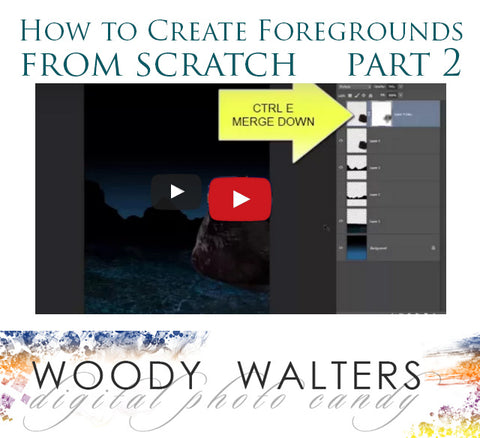 ps tutorial foregrounds from scratch