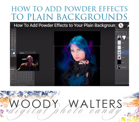 photoshop powder brushes