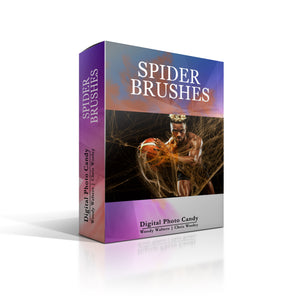 SPIDER BRUSH SET