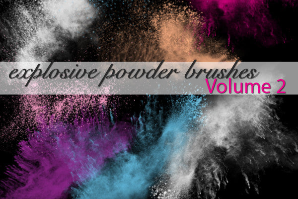 Explosive Powder Brushes Volume 2