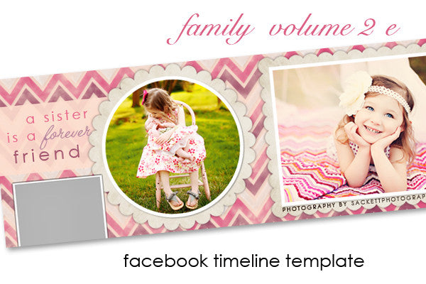 Family Facebook Timeline Cover Volume 2 E
