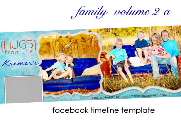 Family Facebook Timeline Cover Volume 2 A
