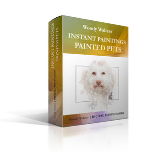 Instant Paintings: Painted Pets