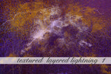 Layered Lightning Textured Background 1