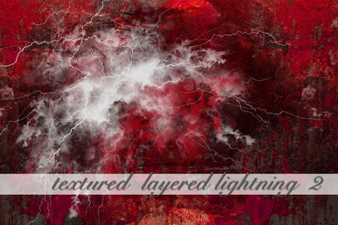 Layered Lightning Textured Background 2
