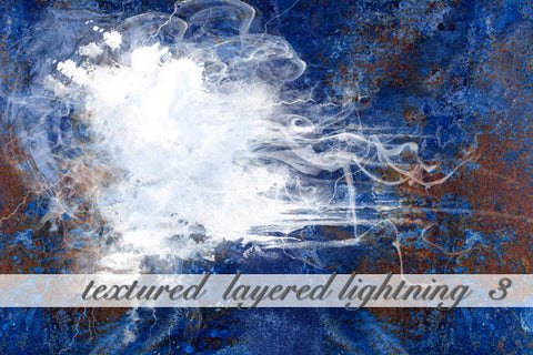 Layered Lightning Textured Background 3