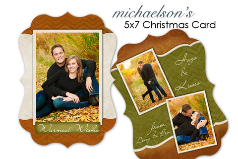 Michaelson's Christmas Card