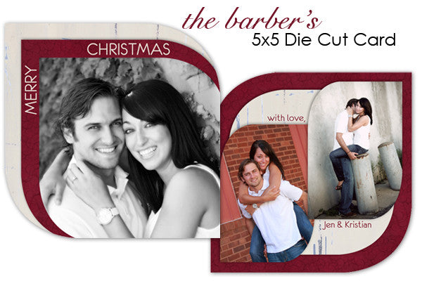 Barber's Christmas Card