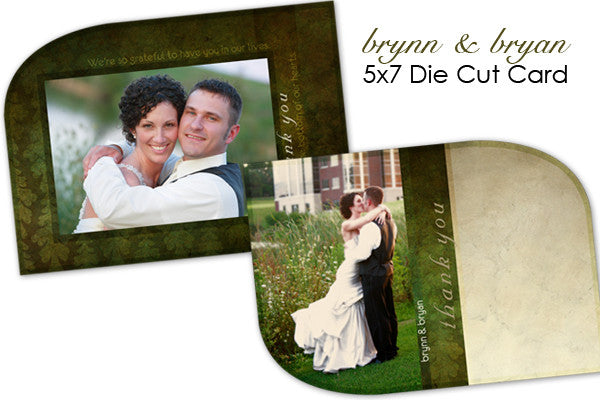 Brynn and Brian Wedding Thank You Card
