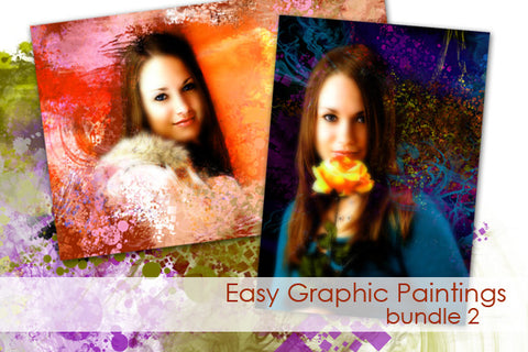 Easy Graphic Paintings Bundle 2