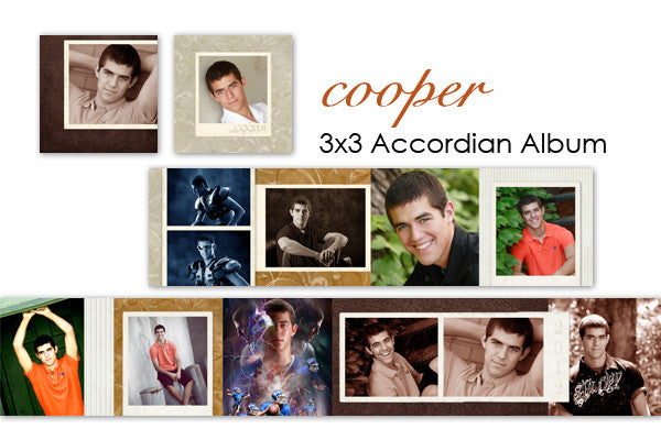 Cooper Accordian Album 3x3