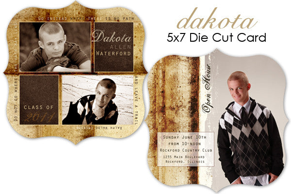 Dakota Grad Card