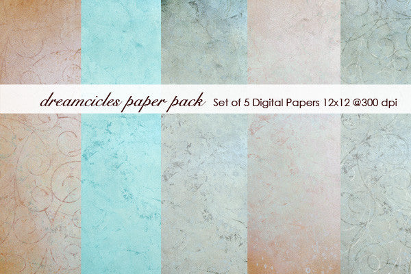 Dreamcicles Paper Pack