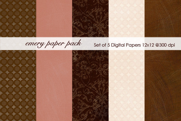 Emery Paper Pack