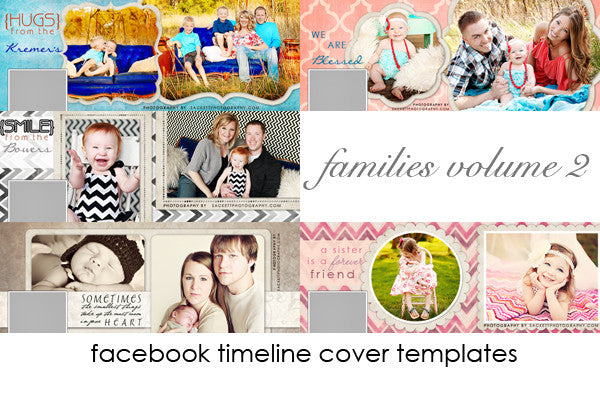 Family Facebook Timeline Cover Templates Volume 2
