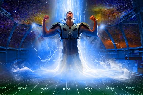 Easy Lightning Football Composite Kit