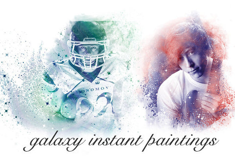 Instant Paintings:  Galaxy Instant Paintings
