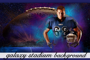 Galaxy Stadium Background