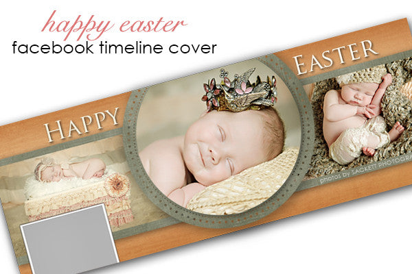 Happy Easter Facebook Timeline Cover