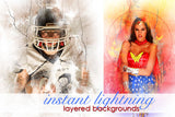 Instant Lightning Photoshop Backgrounds