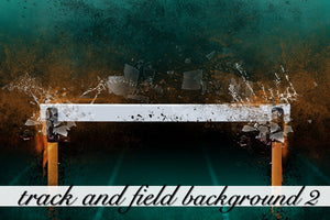 Layered Track and Field Background 2