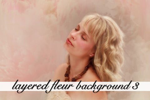 Layered Fleur Background 3