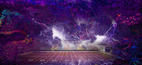 Lightning Football Field Background