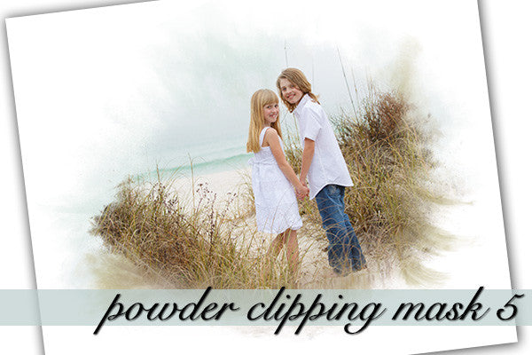Powder Clipping Mask 5 With Layers
