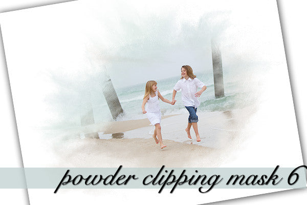 Powder Clipping Mask 6 With Layers