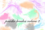Powder/Flour Power Photoshop Brushes Volume 2