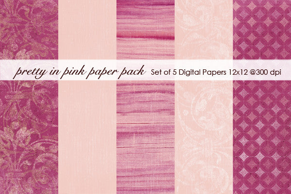 Pretty in Pink Paper Pack