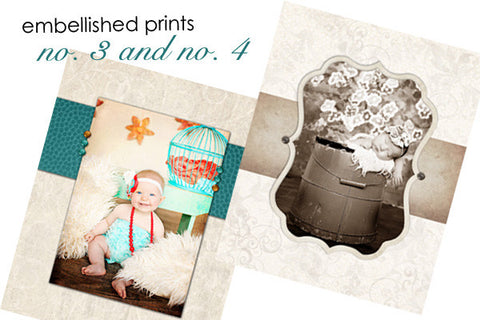 Embellished Prints 3 and 4