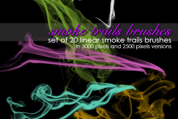Smoke Trails Brushes