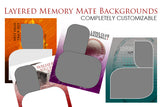 Layered Memory Mate Templates Spring Sports Collection