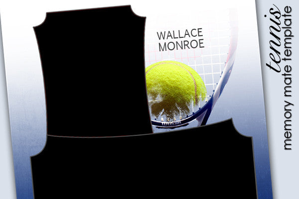Layered Memory Mate Template Tennis 2