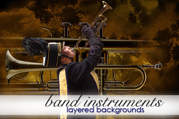 Marching Band Instruments Bundle