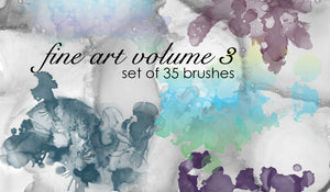 Fine Art 3 Brushes