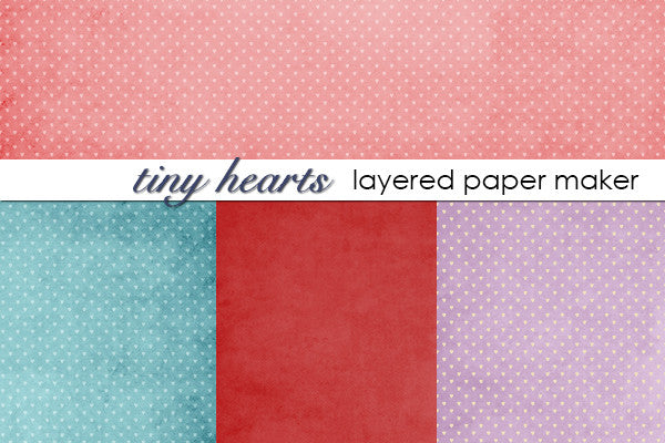 Tiny Hearts Layered Paper Maker