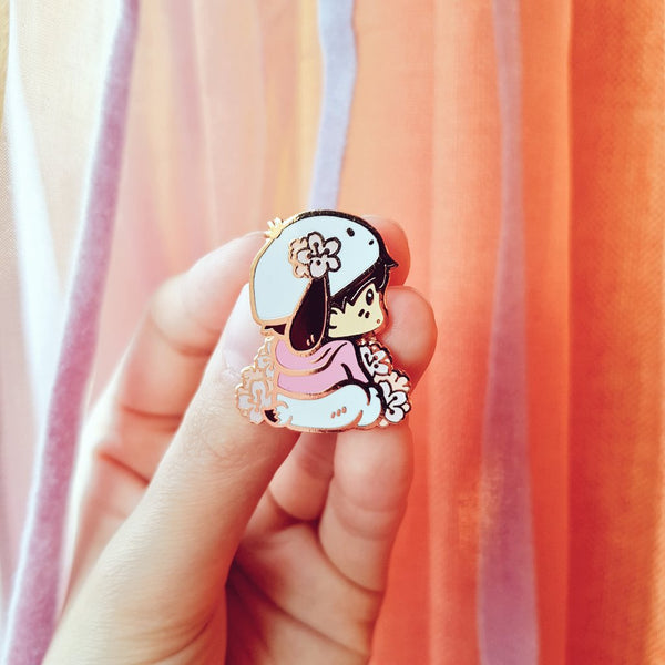 [Yuri!!! on Ice] A good boi - Enamel pin