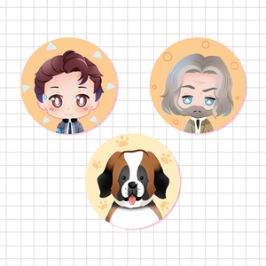 [ Detroit: become human ] Buttons