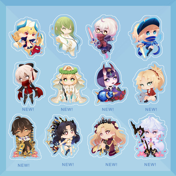 [Fate/Grand Order] Charms