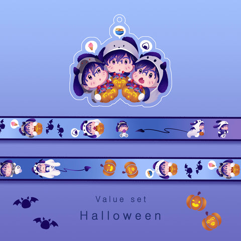 [Yuri!!! on ice] Halloween - Value set