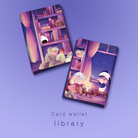 pre-order [Yuri!!! on Ice] Library - Card wallet