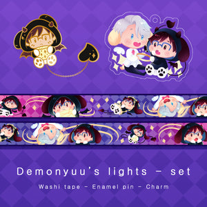 [Yuri!!! on ice] Demonyuu's lights - complete set
