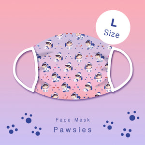 [Yuri!!! on Ice] Pawsies - Face mask (L size)